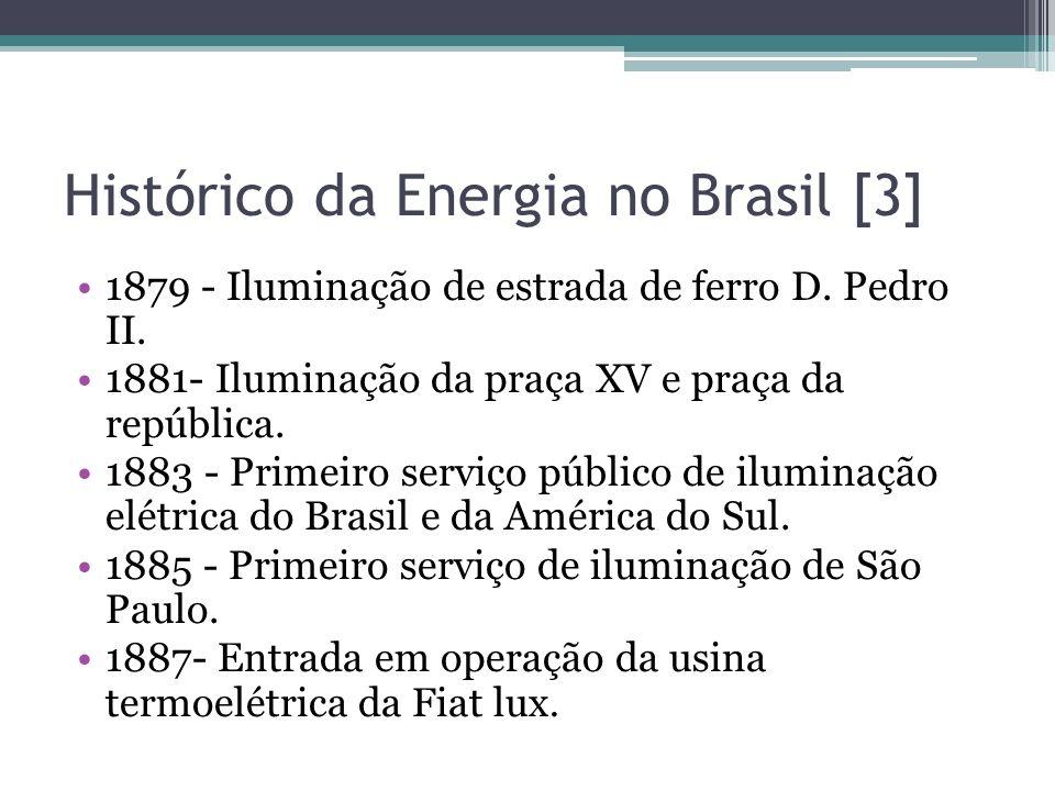 Histórico da Energia no Brasil [3]